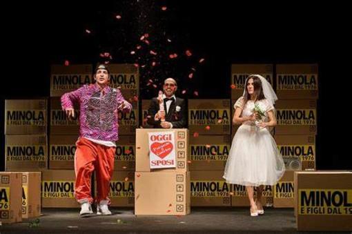 """Un momento de """"La bisbetica domata"""" i scena a Saluzzo al teatro Magda Olivero venerdì 15 ottobre"""
