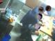 Un'immagine, ripresa da una videocamera nascosta dai carabinieri in corso d'indagine, che documenta un incontro tra alcuni presunti membri della 'locale