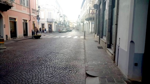 Bra: al via i lavori preliminari per la riqualificazione del secondo tratto di via Vittorio Emanuele II