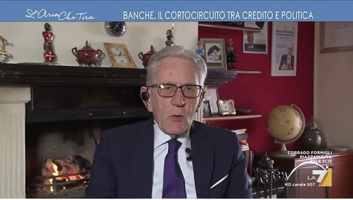 """Beppe Ghisolfi su La7 a """"L'Aria che tira"""""""