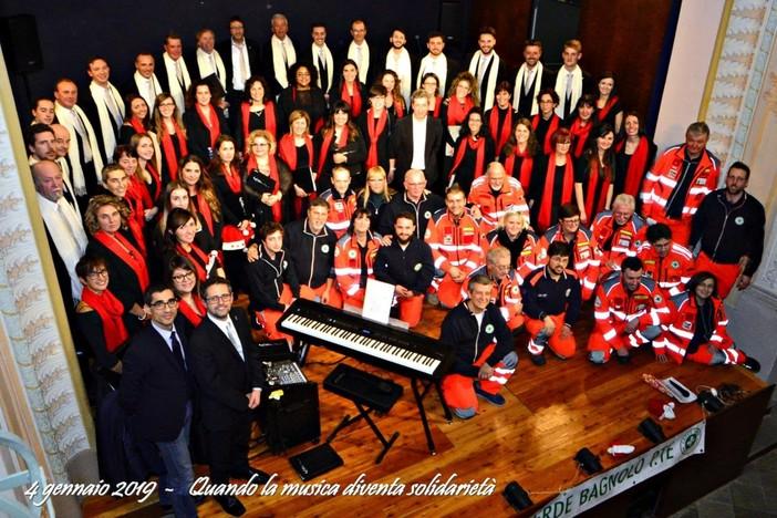 Croce verde a Bagnolo Piemonte apre il trentennale con il concerto de I Polifonici del Marchesato