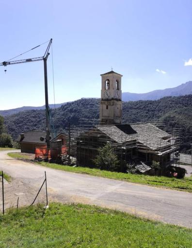 Monterosso Grana: erogati i contributi a sostegno del restauro della chiesa di Frise