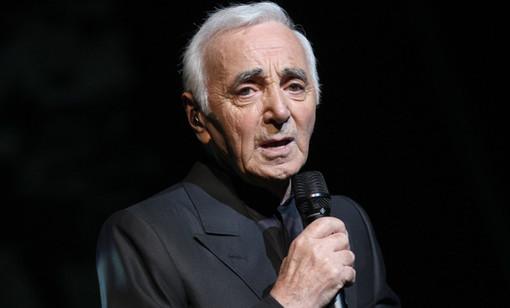 A Vicoforte un omaggio al grande chansonnier Charles Aznavour