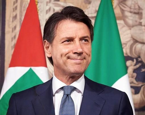 Il presidente del Consiglio Giuseppe Conte (foto scaricata dal profilo Facebook)