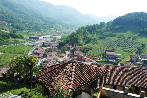 Il territorio di Castellar, municipio di Saluzzo