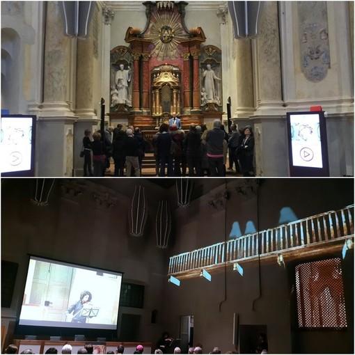 Saluzzo, la Chiesa del Monastero di Maria della Stella e il coro monacale