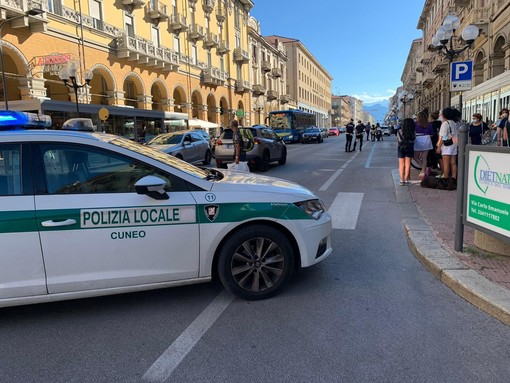 Cuneo: non ce l'ha fatta l'uomo investito in corso Nizza nel pomeriggio di mercoledì