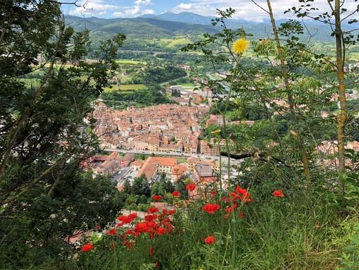 La città di Ceva vista dal Forte (foto Barbara Florio)