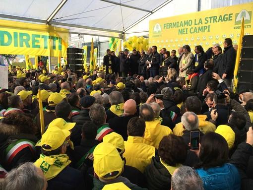 La manifestazione Coldiretti a Verona