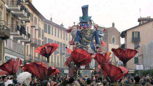 Carnevale di Saluzzo, momento della sfilata 2020