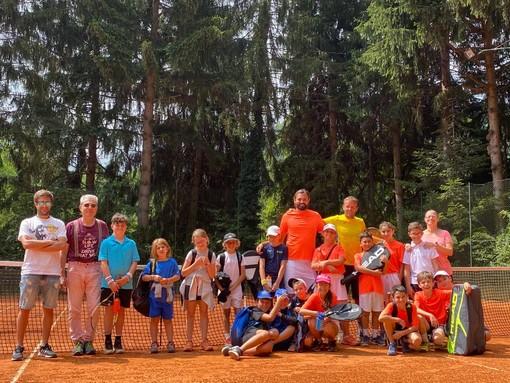 Garessio: successo per il tennis camp dei TC di Cervo e Ceriale