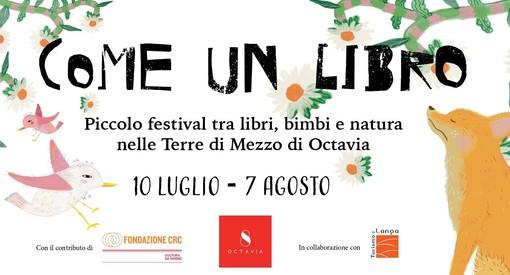 """""""Come un libro"""": il piccolo festival tra libri, bimbi e natura nelle Terre di Mezzo di Octavia"""