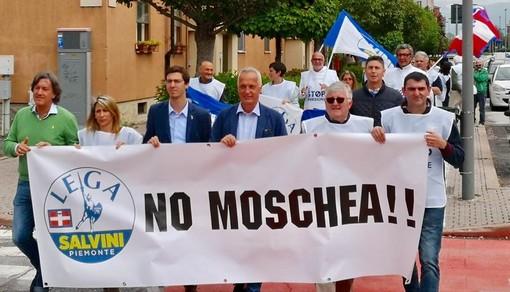 La protesta della Lega del 2018