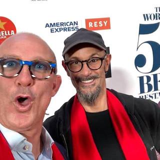 Via social la gioia di Enrico Crippa, a destra, e Federico Ceretto