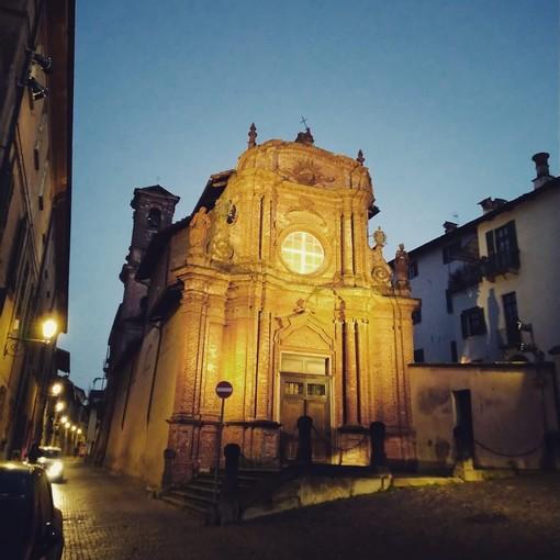 Saluzzo, la chiesa della Croce Nera
