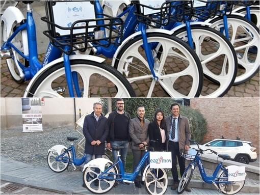 Saluzzo, l'attivazione del servizio di bike sharing ad aprile 2019