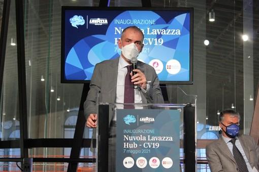 Il sottosegretario Costa ieri a Torino