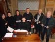 Il coro dei Battuti neri (Foto Luciano Cravero)