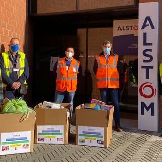 """Cav Savigliano: """"Grazie all'Alstom per la donazione di materiali per la prima infanzia"""""""