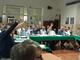 Un'istantanea del Consiglio comunale del 30 luglio al centro anziani di Carassone
