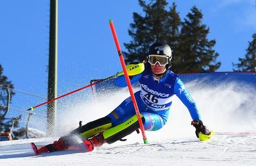 Sci alpino: squadra femminile di Coppa Europa al lavoro sul ghiacciaio dello Stelvio, c'è anche Carlotta Saracco