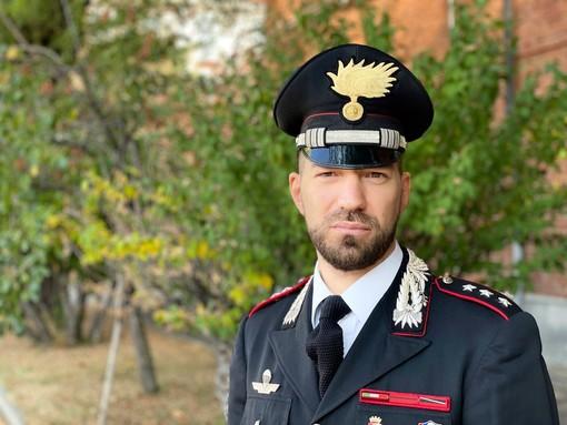 Il Capitano Giacomo Tamiazzo è il nuovo comandante della Compagnia Carabinieri di Cuneo