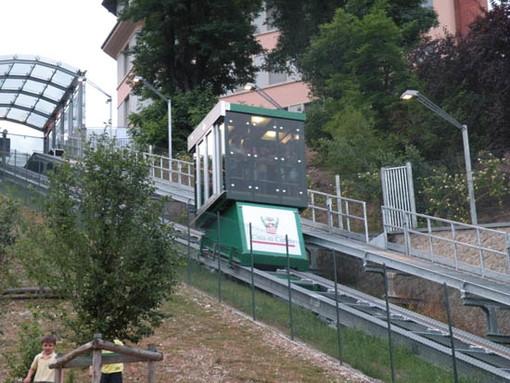 Ascensore inclinato di Cuneo sempre più green: l'impianto tra i progetti pilota per migliorare l'efficienza energetica