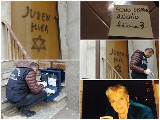 """Aldo Rolfi, vittima del gesto antisemita a Mondovì: """"Grazie a tutti per la solidarietà dimostratami"""" (FOTO e VIDEO)"""