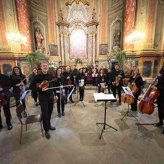 Alcune immagini del concerto andato scena sabato nella chiesa centallese