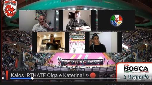 Volley femminile A1 - Bosca S. Bernardo Cuneo, rivivi la diretta con Olga Strantzali e Katerina Zackhaiou (VIDEO)