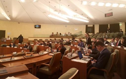 L'approvazione nella seduta mattutina del Consiglio regionale