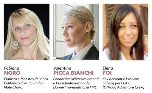 """A Saluzzo la tavola rotonda al femminile sulla prevalenza del fattore """"donna"""" per leadership e autorevolezza"""