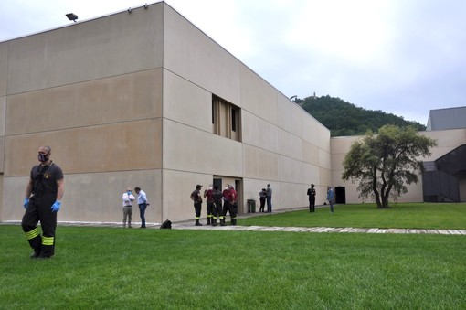 Lo stabilimento della Fratelli Martini di Cossano Belbo, teatro della tragedia verificatasi venerdì scorso