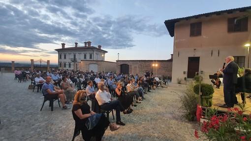 Il concerto andato in scena domenica sera in piazza Garibaldi a Castagnito