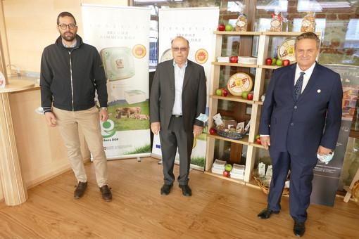 Da sinistra: Marco Quaglia, Franco Biraghi, Mario Cappa