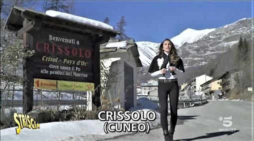 """Un frame del servizio di """"Striscia"""" andato in onda ieri sera (lunedì) su Canale 5"""