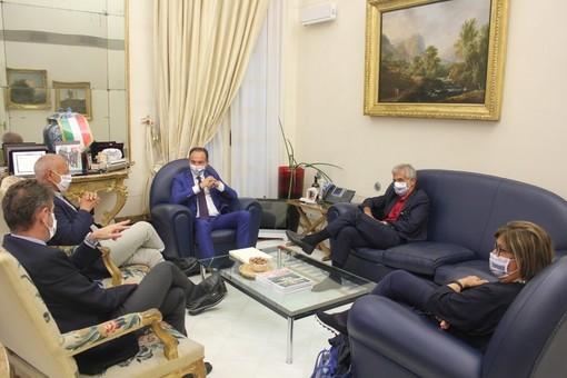 L'incontro tra Cirio e gli ex presidenti della Regione