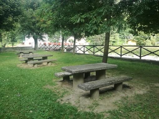 L'area verde attrezzata di Chiusa Pesio