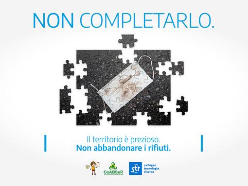 """""""Non completarlo"""": il messagigio di CoABSeR e STR contro l'abbandono dei rifiuti"""