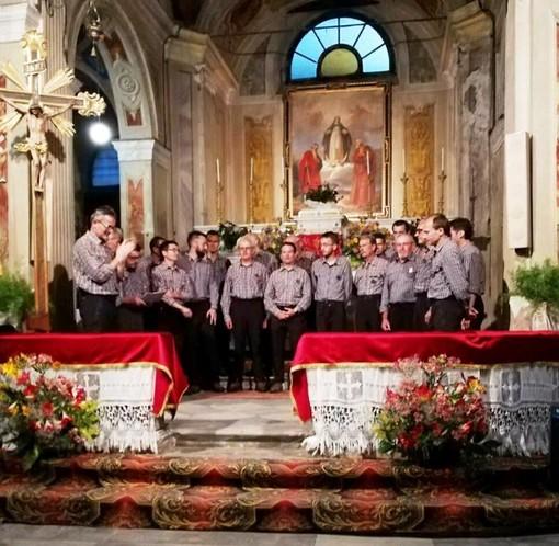 """Coro Ana Valle Belbo ospite della coronale """"La Marmotta"""" di Bernezzo"""