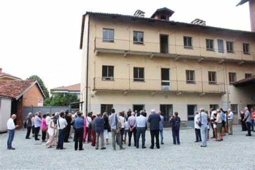 Saluzzo, Casa Madre Teresa: l'inaugurazione del dormitorio maschile nel 2018