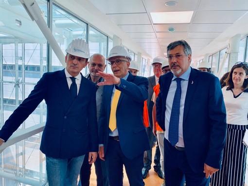 Nuovo ospedale Alba Bra, dichiarazione di fine lavori sul cantiere di Verduno