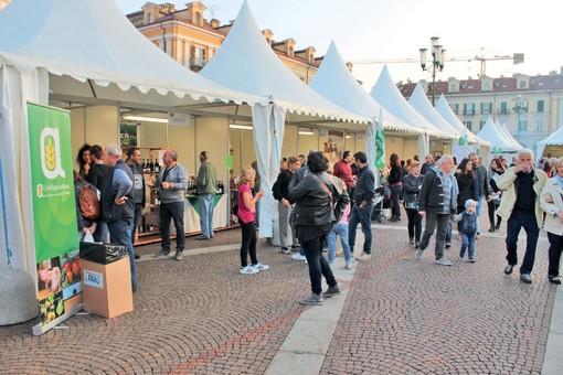 Lo stand di Confagricoltura all'edizione 2019 della Fiera Nazionale del Marrone a Cuneo