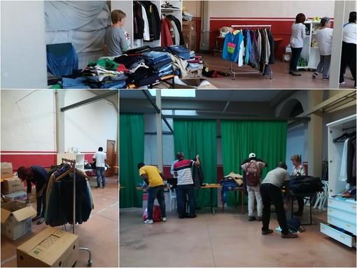 Saluzzo, il servizio di  distribuzione Boutique du Monde di Saluzzo Migrante. Foto tratte dal sito
