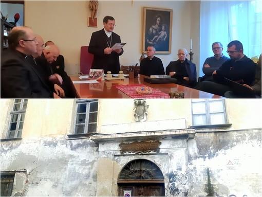 La conferenza stampa del vescovo Monsigno Cristiano Bodo