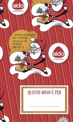 I pacchetti di Natale con la carta da regalo dell'A.I.D.O.: un'originale idea del gruppo della Granda