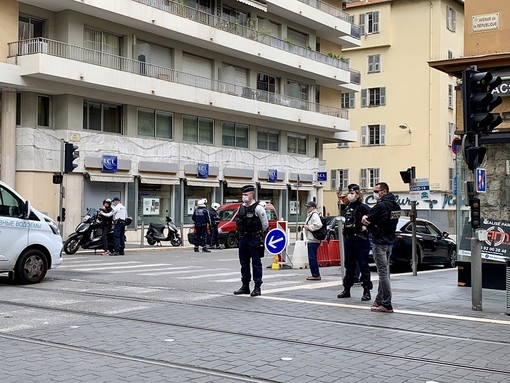 Controlli di Polizia ieri a Nizza