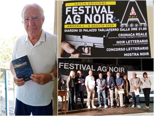 """Nicola Gaeta, autore del racconto  """"Il pendolare"""" premiato al Festival AG Noir di Andora"""