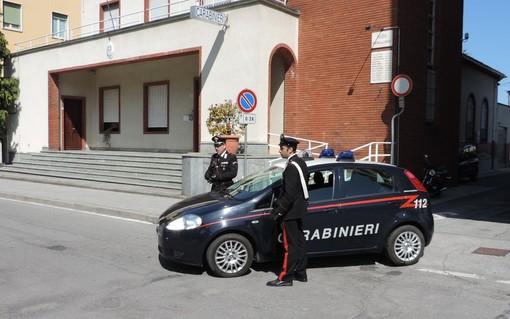 La caserma dei Carabinieri di Verzuolo