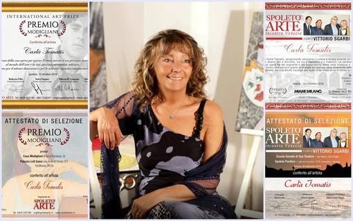 """Arte: la monregalese Carla Tomatis selezionata per il prestigioso """"Premio Modigliani"""" (FOTO)"""